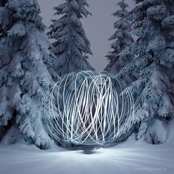 Amazing Light Painting created by Cenci Goepel & Jens Warnecke