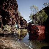 Lightmark No.92, Kalamina Gorge, Karijini National Park, Australia, Light Painting, Night Photography.